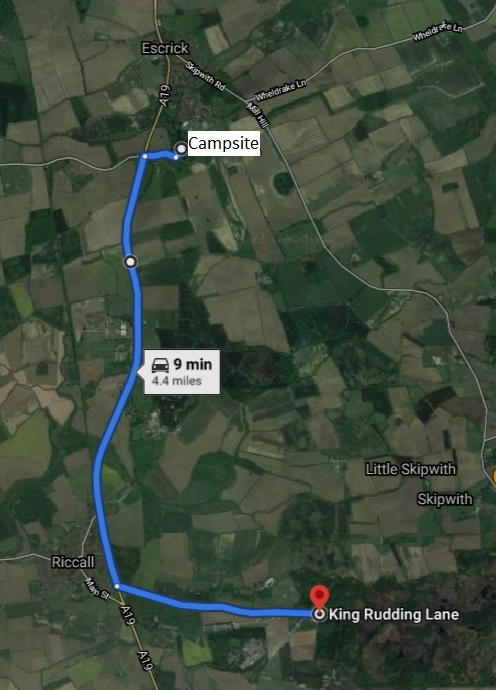 Skipwith Directions